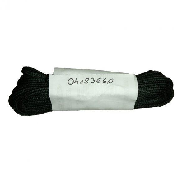 Cipőfűző vékony gömbölyű fekete 240cm