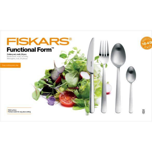 Fiskars Functional Form 24 részes evőeszközkészlet matt