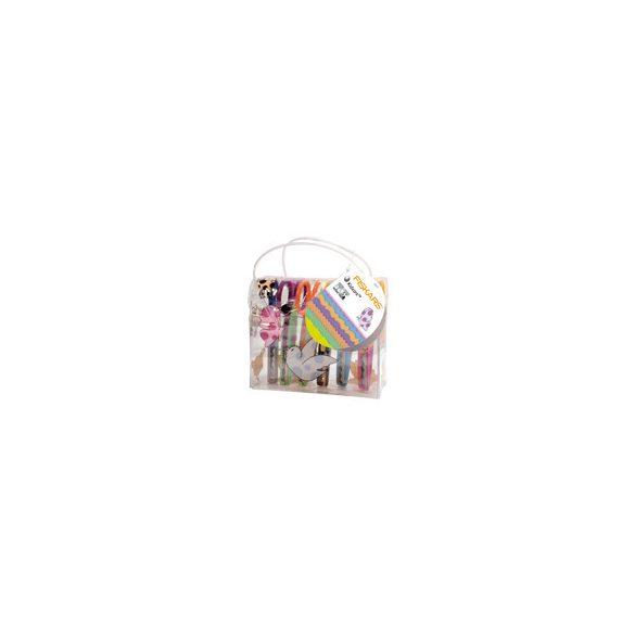 Fiskars KIDZORS 6 részes gyermek mintavágó olló készlet táskával