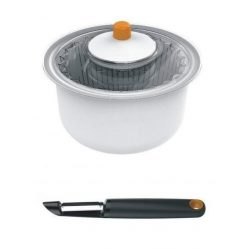 Fiskars Functional Form Saláta centrifuga hámozóval