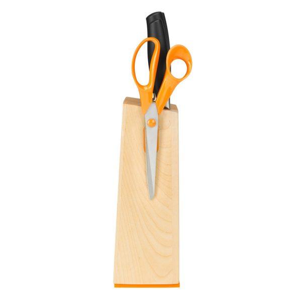 Fiskars Functional Form+ Késblokk 5 késsel - Ajándék köténnyel