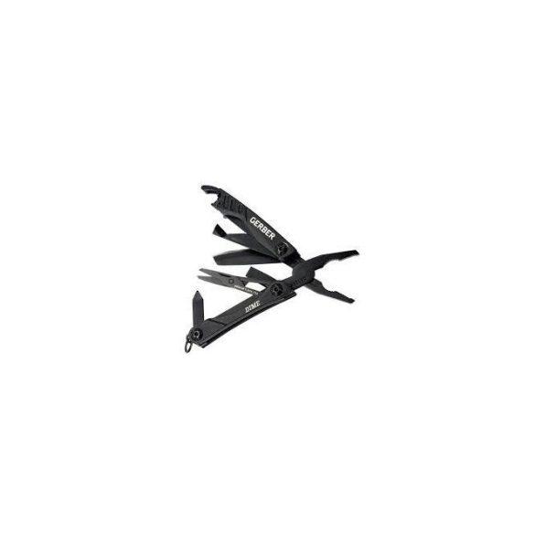 Fiskars Dime kulcstartóra rögzíthető multiszerszám, fekete, dobozban GB