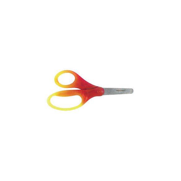 Fiskars Gyermekolló színátmenetes sárga-piros 12cm