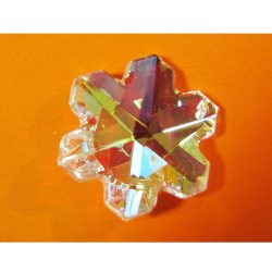 Feng Shui Swarovsky szivárványkristály hópihe