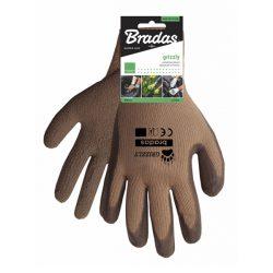 Grizzly latex kesztyű RWG10 barna 10