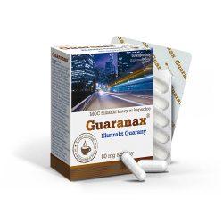 Olimp Labs Guaranax Guarana kapszula - késleltetett feszívódású növényi koffein forrás. Standardizált guaranin tartalom!