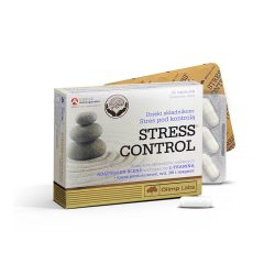 Olimp Labs Stress control kapszula - Nem szedál le, nem álmosít, mellékhatás nélkül hoz egyensúlyba.