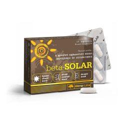 Olimp Labs beta-SOLAR Világszabadalommal védett bőrvitamin - Melanóma ellenes katekinekkel, 55% EGCG! 14 összetevő.