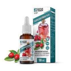 Natur Tanya Csipkebogyómag olaj hidegsajtolással-    Antioxidáns hatású1, természetes E-vitaminban gazdag extra sűrű olaj!