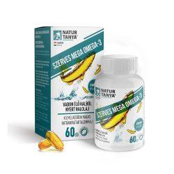 Natur Tanya Mega Omega-3 - vadvízi halolaj, extra EPA és DHA tartalom
