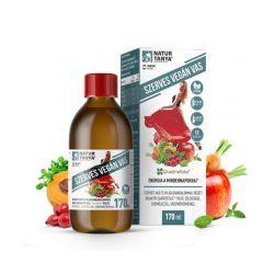 Szerves VEGÁN vas szirup - Szerves vas és világszabadalommal védett bioaktív Quatrefolic folát, zöldséggel, gyümölccsel, gyógynövényekkel 170 ml