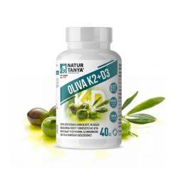Natur Tanya OLIVA K2+D3 – Világszabadalommal védett vitaMK7 K2-vitaminnal az immunrendszer és a csontozat egészségéhez