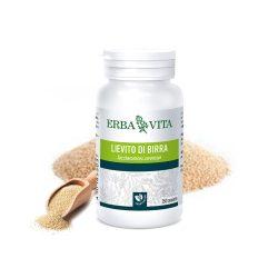 ErbaVita Mikronizált Sörélesztő tabletta - Máj, idegrendszer, emésztőrendszer és kötőszövet egészsége.