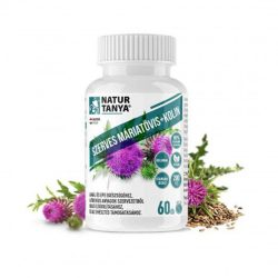 Natur Tanya Szerves Máriatövis mag kivonat kolinnal - 160mg szilimarin tartalommal a máj egészségéért!