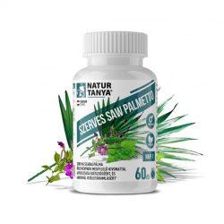 Natur Tanya Férfiegészség - Saw Palmetto (Szabalpálma/Fűrészpálma), kisvirágú füzike, csalángyökér, cink és szelén kivonat