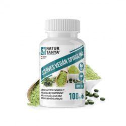 Natur Tanya Szerves VEGÁN SPIRULINA – Energiát ad, támogatja a fogyókúrát és az emésztést
