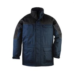 Ripstop kabát tengerkék/fekete L
