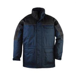 Ripstop kabát tengerkék/fekete S