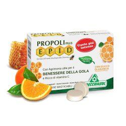 Specchiasol Cukormentes Propolisz szopogatós tabletta narancsos íz - EPID szabadalommal, 600 mg-os kivonat.