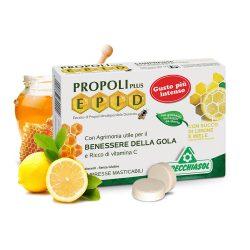 Specchiasol Cukormentes Propolisz szopogatós tabletta mézes-citromos íz - EPID szabadalom, 600 mg-os kivonat.