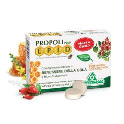 Specchiasol Cukormentes Propolisz szopogatós tabletta cinkkel dúsítva,alpesi gyógynövénnyel  - EPID szabadalom