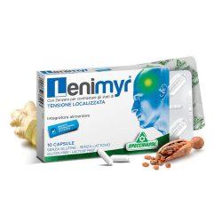 Specchiasol Lenimyr – mirhagyanta, gyömbérgyökér és vízmentes koffein kapszula