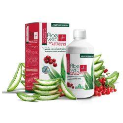 Specchiasol Aloe vera ital tőzegáfonyás, erdei gyümölcsös 100% tisztaságú, IASC által certifikált Aloe tartalommal 1000ml