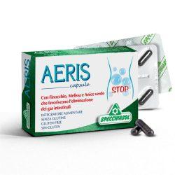 Specchiasol AERIS kapszula - növényi szén, gyógynövények, illóolajok és mangán a jó emésztésért