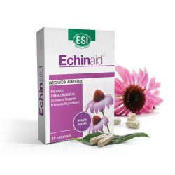 ESI Echinaid Echinacea, kasvirág koncentrátum 30 db - 2 féle Echinaceából, 4 féle növényi részből. Standardizált étrend-kiegészítő, fermentált növényi kapszulatokban