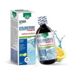 ESI Diurerbe Forte italkoncentrátum, citrom íz – Vízvisszatartás és cellulit ellen. 500ml