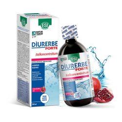 ESI Diurerbe Forte italkoncentrátum, gránátalma íz – Vízvisszatartás és cellulit ellen. 500ml