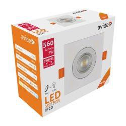 Avide LED beépíthető SPOT 38nm2 NW 4000K 7W