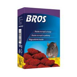 Bros B054 Paraffinos rágcsálóirtó blokk / kocka 100gr