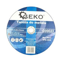 Geko vágókorong fémhez 230x2,0mm