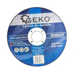 Geko vágókorong fémhez 125x1,0mm