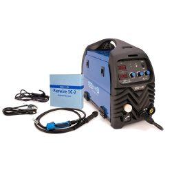 Panelectrode MIG/MMA 200 D inverteres hegesztőgép + 5kg Panwire SG-2 (0,8mm) hegesztőhuzal
