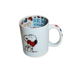 Fehér bögre Snoopy