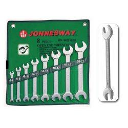 Jonnesway 8 részes villáskulcs készlet